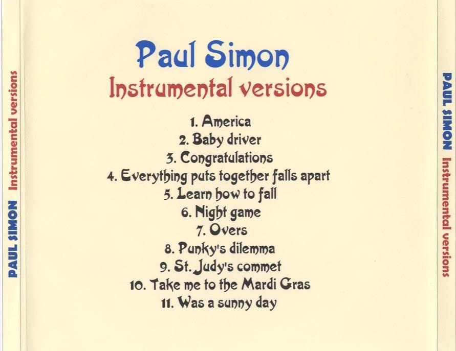 Lyric simon and garfunkel america lyrics : Covers of different Paul Simon and Garfunkel CDs