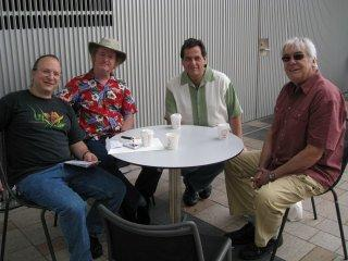 Rob Schwimmer Mark Stewart,Jamey Haddad Warren Bernhardt Old Friends Tour Australia 2009