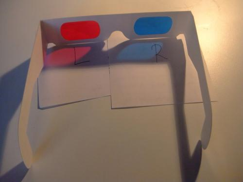 For the 3D you need these red/cyan glasses (which are very cheap) in order to see the 3D effect!
