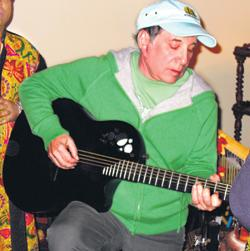 Paul Simon during his winter vacation in Sri Lanka 2006/07
