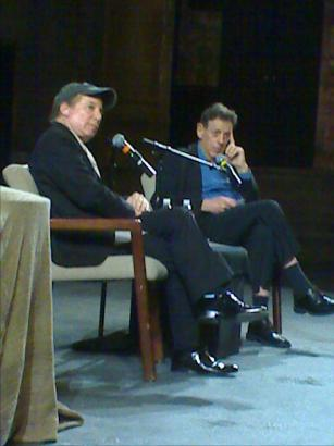 Paul Simon & Philip Glass: A Conversation, May 5, 2008, BAM
