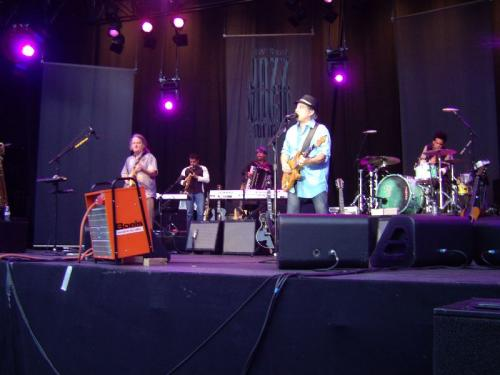 Paul Simon and band at Stuttgart July 17, 2008