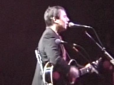 Paul Simon performing at Carver-Hawkeye Arena, University of Iowa in Iowa City, Iowa, USA on February 20, 1991