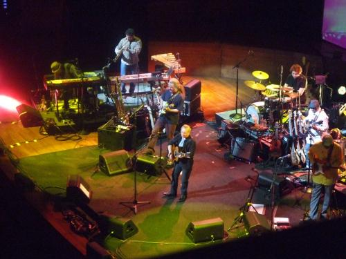 Paul at the San Francisco Davies Hall show, 4/25/11.