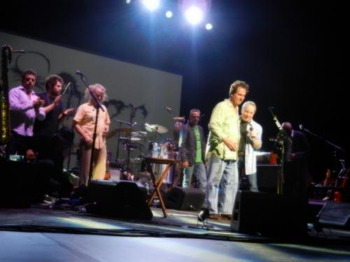Paul and his band in Paris - July 6, 2011
