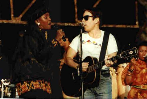 Miriam Makeba and Paul Graceland Tour