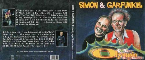 Simon & Garfunkel Live Munchen 2004 On CDs Digipack