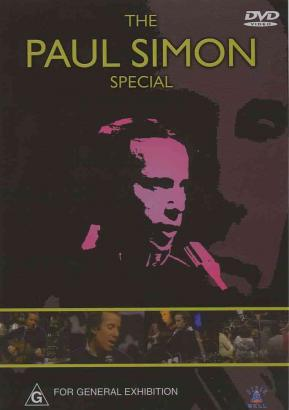 Official DVD ´ The Paul Simon Special ´ Label DIXIE BELL