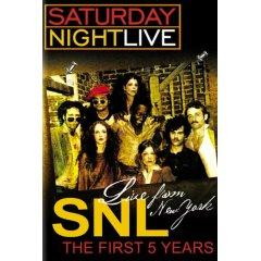 Saturday night live first 5 years