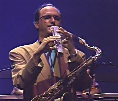 Michael Brecker playing the EWI