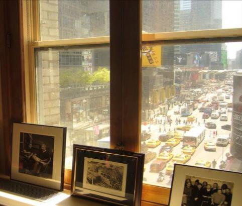 This is a picture I believe from one of the windows in Paul's office in the Brill Building.