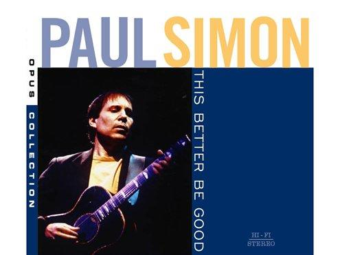 Cover of the new Paul Simon collection