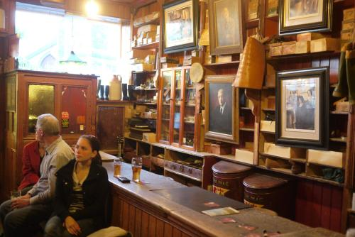 Dick Macks Pub with Paul Simon star, in Dingle, Ireland - inside