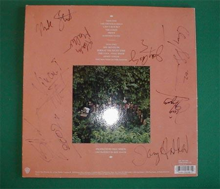 My ROTS LP, signed by most band members